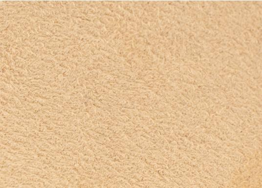 Samtig weicher Microfaserstoff mit Schaumstoffrücken, ideal fürdie Wand- und Deckenverkleidung Ihres Schiffes.