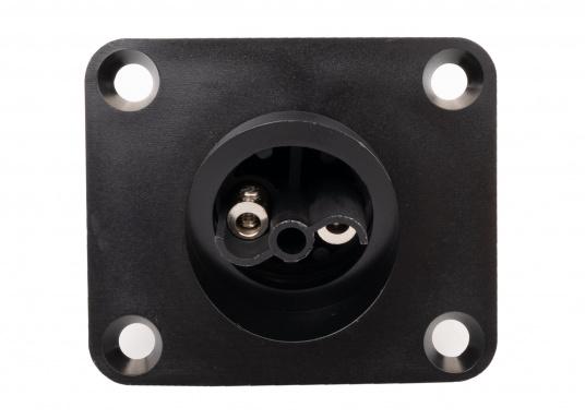 2-polige Flanschdose, passend für den Kabelanschluss von PX0911- und PXA911-Steckern von Bulgin. Standard Buccaneer. (Bild 3 von 3)