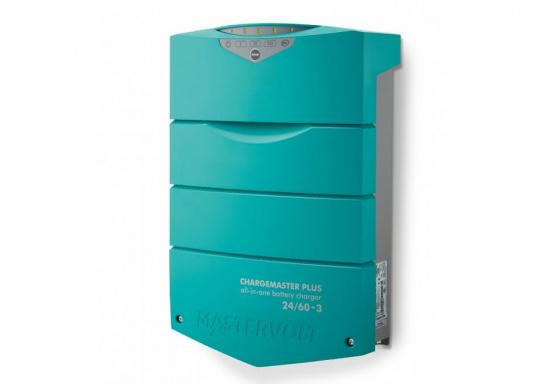 ChargeMaster PLUS ist die nächste Generation der Batterieladegeräte, die zahlreiche Funktionen in einem Gerät vereint.Anzahl der Batterieausgänge: 2 + 1. Ladestrom insgesamt: 60 A. (Bild 2 von 8)