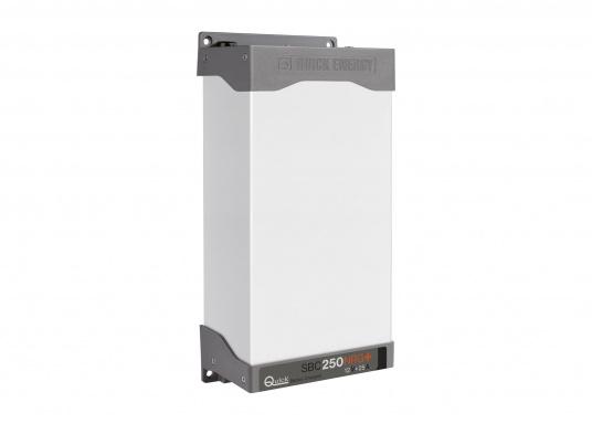 Die Batterieladegeräte der SBC NRG+ MINI Serie finden überall dort Verwendung, wo kleinere Leistungen bei geringen Abmessungen benötigt werden. Die Neuentwicklung ermöglicht eine 15 % höhere Ausgangsleistung als beim Industrie-Standard und arbeitet dank des temperaturabhängigen Lüftungssystems äußerst leise und batterieschonend. Für Batterien: 110 - 250 Ah. (Bild 2 von 2)