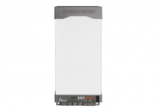 Die Batterieladegeräte der SBC NRG+ MINI Serie finden überall dort Verwendung, wo kleinere Leistungen bei geringen Abmessungen benötigt werden. Die Neuentwicklung ermöglicht eine 15 % höhere Ausgangsleistung als beim Industrie-Standard und arbeitet dank des temperaturabhängigen Lüftungssystems äußerst leise und batterieschonend. Für Batterien: 110 - 250 Ah.
