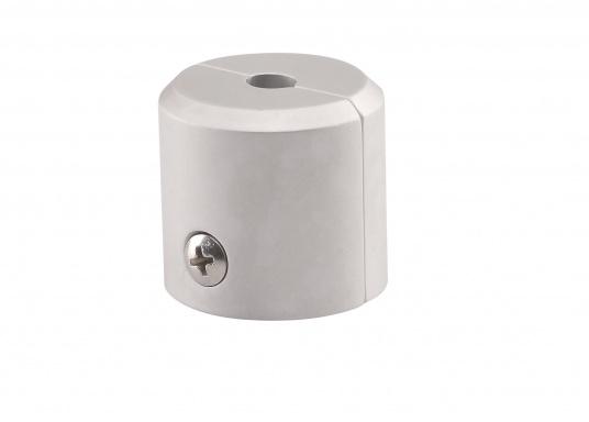 Originale und passende Endkappen aus Aluminium für die KR/TR-Profile der Rollreffanlagen von NEMO. Verpackungseinheit: 2 Stück.