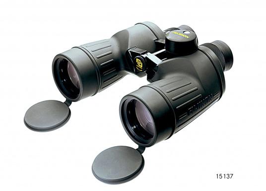 I robusti binocoli sono caratterizzati dagli oculari standard a campo piatto. Colpiscono per la luminosità, la nitidezza e l'elaborazione meccanica dell'immagine.