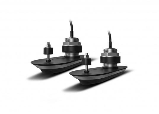 Der All-in-One-Durchbruchgeber RV412 von Raymarine ist ein 4-Kanal-, Breitband-CHIRP-Geber und verfügt über die folgenden Technologien: DownVision, SideVision, Hochfrequenz-CHIRP und RealVision 3D.Das eingebaute Kurs/Lage-Referenzsystem stabilisiert zuverlässig die Sonarbilder und die Schiffsbewegung. Material: Edelstahl. Dieses Systempaket enthält zwei RV412-Geber mit interner Neigung.
