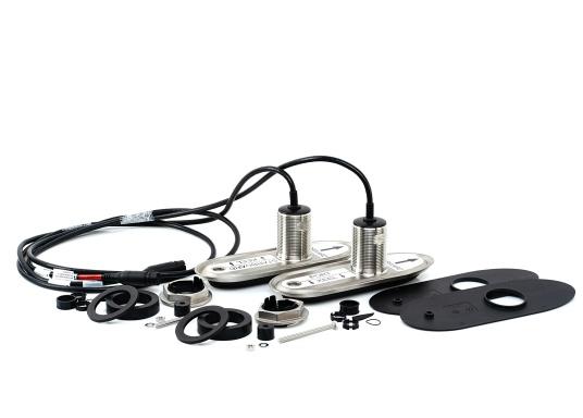 Der All-in-One-Durchbruchgeber RV420 von Raymarine ist ein 4-Kanal-, Breitband-CHIRP-Geber und verfügt über die folgenden Technologien: DownVision, SideVision, Hochfrequenz-CHIRP und RealVision 3D.Das eingebaute Kurs/Lage-Referenzsystem stabilisiert zuverlässig die Sonarbilder und die Schiffsbewegung. Material: Edelstahl. Dieses Systempaket enthält zwei RV420-Geber mit interner Neigung. (Bild 3 von 5)