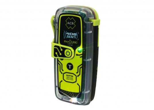 Die PLB ResQLink View von ACR bietet beispiellose Sicherheit!Dank der integrierten Signaltechnologie auf drei Ebenen - GPS-Ortung, ein leistungsstarkes 406-MHz-Signal und eine Zielsuchfunktion von 121,5 MHz - leitet ResQLink View Ihre Position schnell und präzise an ein weltweites Netzwerk von Such- und Rettungssatelliten weiter. Zusätzlich verfügt ResQlink View über eine innovative Digitalanzeige, die während des gesamten Rettungsvorgangs den Live-Status sowie die GPS-Koordinaten anzeigt. (Bild 8 von 8)