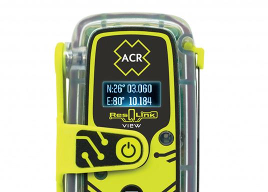 Die PLB ResQLink View von ACR bietet beispiellose Sicherheit!Dank der integrierten Signaltechnologie auf drei Ebenen - GPS-Ortung, ein leistungsstarkes 406-MHz-Signal und eine Zielsuchfunktion von 121,5 MHz - leitet ResQLink View Ihre Position schnell und präzise an ein weltweites Netzwerk von Such- und Rettungssatelliten weiter. Zusätzlich verfügt ResQlink View über eine innovative Digitalanzeige, die während des gesamten Rettungsvorgangs den Live-Status sowie die GPS-Koordinaten anzeigt. (Bild 5 von 8)