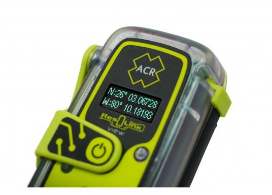 Die PLB ResQLink View von ACR bietet beispiellose Sicherheit!Dank der integrierten Signaltechnologie auf drei Ebenen - GPS-Ortung, ein leistungsstarkes 406-MHz-Signal und eine Zielsuchfunktion von 121,5 MHz - leitet ResQLink View Ihre Position schnell und präzise an ein weltweites Netzwerk von Such- und Rettungssatelliten weiter. Zusätzlich verfügt ResQlink View über eine innovative Digitalanzeige, die während des gesamten Rettungsvorgangs den Live-Status sowie die GPS-Koordinaten anzeigt. (Bild 6 von 8)