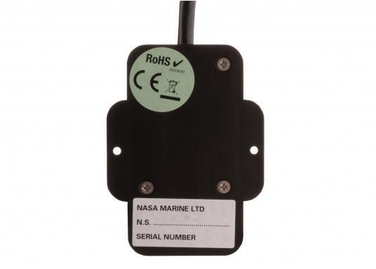 Affiche la direction du vent sur les écrans de votre réseau NMEA 2000 grâce à la girouette NASA NMEA 2000. Le système comprend une girouette-anémomètre V2 NASA (avec un câble de mât de 20m) et un convertisseur NMEA 0183 conçu spécialement pour les données vent. (Image 5 de 8)