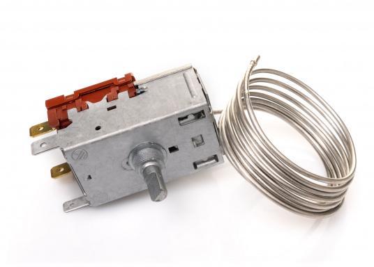 Hier finden Sie ein stufenlos einstellbares Thermostat für Verdampfer. Das Thermostat wird extern montiert. (Bild 2 von 5)