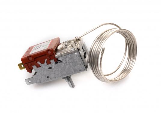 Hier finden Sie ein stufenlos einstellbares Thermostat für Verdampfer. Das Thermostat wird extern montiert. (Bild 3 von 5)