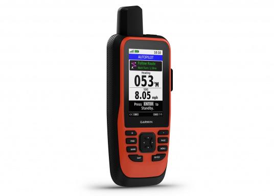 """Das GPSMAP 86i ist ein eigenständiges Backup-Navigationsgerät welches dank drahtloser Konnektivität außerdem als Erweiterung des Marinesystems dient. Das 3"""" große Display ist auch bei Sonneneinstrahlungen gut lesbar und verschaffteinen besseren Überblick und zusätzliche praktische Funktionen, wiedie Satellitenkommunikation für interaktive SOS-Notrufe."""