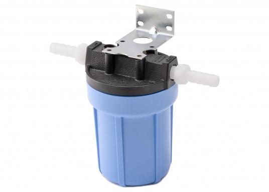 Das Wasserfiltersystem filtert zuverlässig gelöste Verunreinigungen und Sedimente aus Ihrem Trinkwasser. Die Filterleistung umfasst etwa 5.000 Liter.  (Bild 3 von 6)