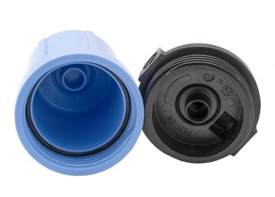 Das Wasserfiltersystem filtert zuverlässig gelöste Verunreinigungen und Sedimente aus Ihrem Trinkwasser. Die Filterleistung umfasst etwa 5.000 Liter.  (Bild 4 von 6)