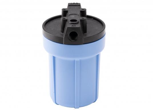 Das Wasserfiltersystem filtert zuverlässig gelöste Verunreinigungen und Sedimente aus Ihrem Trinkwasser. Die Filterleistung umfasst etwa 5.000 Liter.  (Bild 5 von 6)