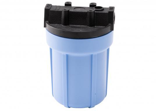 Das Wasserfiltersystem filtert zuverlässig gelöste Verunreinigungen und Sedimente aus Ihrem Trinkwasser. Die Filterleistung umfasst etwa 5.000 Liter.  (Bild 6 von 6)