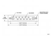 Bus Bar 2x M6 / 10x M4