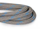 DOCK-FLEX - Mooring Line / titanium / blue