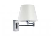 ISABELLA Wall Light / chrome / 2 swivelling arms