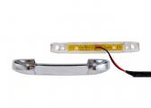 LED Stufenleuchte BARTEGO, weiß / in zwei Richtungen strahlend