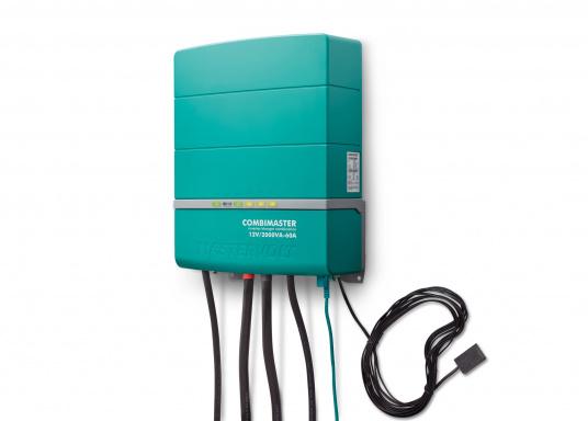 Die Mastervolt CombiMaster Serie vereint leichte Bedienung, Zuverlässigkeit und modernste Lade- sowie Netzwerktechnik. Für die leistungsstarken CombiMaster Geräte sind anspruchsvolle Anwendungen und höhe Ströme kein Problem.Dank der integrierten MasterBus-, CZone- und NMEA2000 Schnittstelle ist die CombiMaster Serie mit nahezu allen aktuellen Netzwerktechniken und Endgeräten kompatibel. (Bild 3 von 9)
