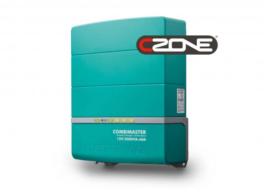 Die Mastervolt CombiMaster Serie vereint leichte Bedienung, Zuverlässigkeit und modernste Lade- sowie Netzwerktechnik. Für die leistungsstarken CombiMaster Geräte sind anspruchsvolle Anwendungen und höhe Ströme kein Problem.Dank der integrierten MasterBus-, CZone- und NMEA2000 Schnittstelle ist die CombiMaster Serie mit nahezu allen aktuellen Netzwerktechniken und Endgeräten kompatibel.