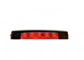 LED Stufenleuchte ARENDA, rot / in zwei Richtungen strahlend