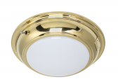 Ceiling Light ANNE / brass / with switch