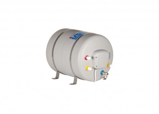 Die Warmwasserboiler SPA verfügen über einen integrierten Heizstab (230 V - 750 W), ein kombiniertes Sicherheits- und Rückschlagventil sowie eine Polyurethan-Dämmung. Erhältlich in unterschiedlichen Größen. (Bild 5 von 7)