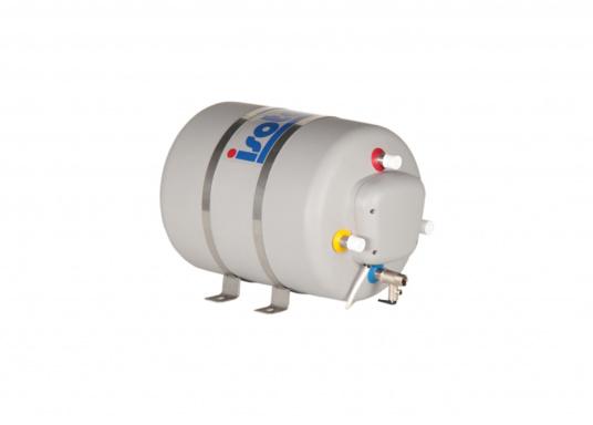 Die Warmwasserboiler SPA verfügen über einen integrierten Heizstab (230 V - 750 W), ein kombiniertes Sicherheits- und Rückschlagventil sowie eine Polyurethan-Dämmung. Erhältlich in unterschiedlichen Größen. (Bild 6 von 7)