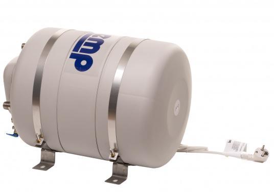 Die Warmwasserboiler SPA verfügen über einen integrierten Heizstab (230 V - 750 W), ein kombiniertes Sicherheits- und Rückschlagventil sowie eine Polyurethan-Dämmung. Erhältlich in unterschiedlichen Größen. (Bild 4 von 7)