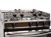 BRETAGNE Gas Hob, Oven and Grill / 3-burners