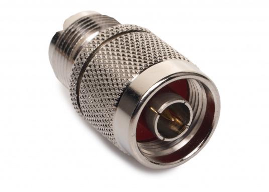Adapter N-Stecker auf PL-Buchse (SO239).