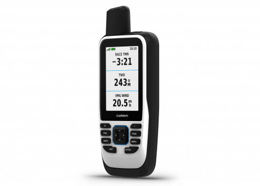 "The GPSMAP 86s is a stand-alone backup navigation device that also serves as an extension to the marine system with wireless connectivity. The 3"" display is easy to read even in sunlight and provides a better overview and additional practical functions. Delivery includes free travel charger and bag. (Afbeelding 3 of 10)"