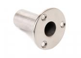 Tarpaulin Tube Holder, Flush / stainless steel