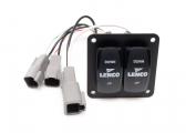 Electr. Trim Tab Kit incl. Control Panel & Trim Tabs / 12V