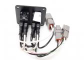 Kit de flaps électriques avec unité de contrôle et flaps / 12V