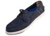 Chaussures pour homme NAPLES NUBUK / bleu marine
