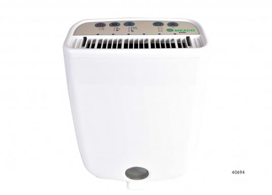 Kleiner und leichter Luftentfeuchter, mit integrierten Luftreiniger, ideal geeignet, umIhr Boot im Winterlager trocken zu halten. Ebenso kann das Gerät in Wohnmobilen, Kellerräumen oder Garagen eingesetzt werden.  (Bild 2 von 5)