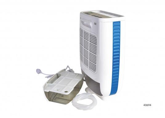 Kleiner und leichter Luftentfeuchter, mit integrierten Luftreiniger, ideal geeignet, umIhr Boot im Winterlager trocken zu halten. Ebenso kann das Gerät in Wohnmobilen, Kellerräumen oder Garagen eingesetzt werden.  (Bild 4 von 5)