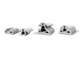 Liston caoutchouc BINO65 / blanc