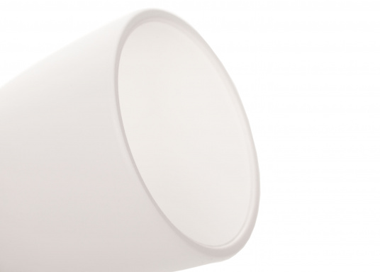 """Die hochwertige LED-Wandleuchte R1-1 von PREBIT überzeugt mit hellem und angenehm, warmweißen Licht sowie integrierter Dimmfunktion """"Dim2Warm"""" und Memoryfunktion. Farbe: gold-glänzend mit satiniert-weißem Glas. (Bild 5 von 5)"""