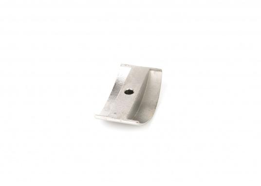 Passendes Mittelstück aus Edelstahl für SPHAERA 50 mm Fenderprofil.  (Bild 2 von 3)