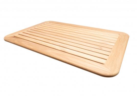 Massive und hochwertige Tischplatte aus Teak für Ihre Kajüte oder Ihr Cockpit. (Bild 2 von 4)
