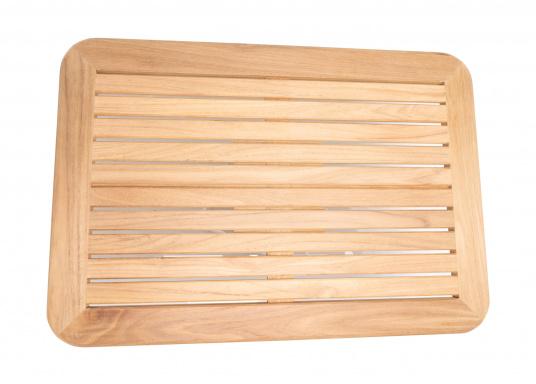 Massive und hochwertige Tischplatte aus Teak für Ihre Kajüte oder Ihr Cockpit. (Bild 3 von 4)