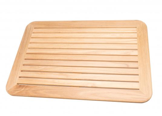 Massive und hochwertige Tischplatte aus Teak für Ihre Kajüte oder Ihr Cockpit.