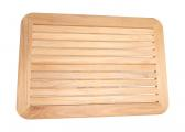 Plateau de table en TECK / 55 x 80 cm
