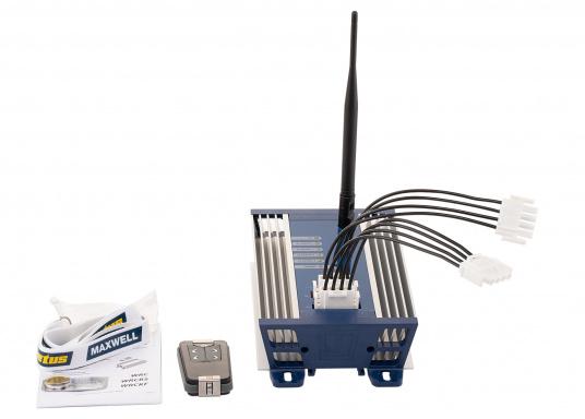 VETUS 4-Kanal-Funkfernbedienung 12/24V inkl. Empfängerbox und Funk-Handfernbedienung. (Bild 2 von 4)