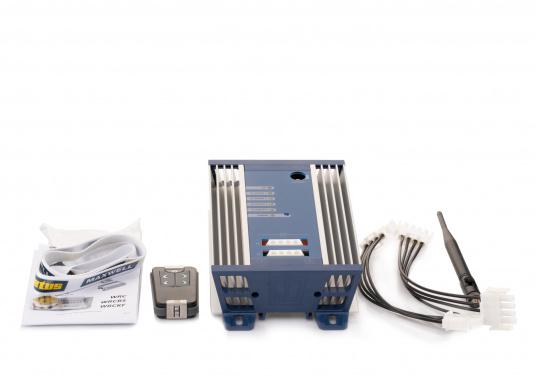VETUS 4-Kanal-Funkfernbedienung 12/24V inkl. Empfängerbox und Funk-Handfernbedienung. (Bild 3 von 4)