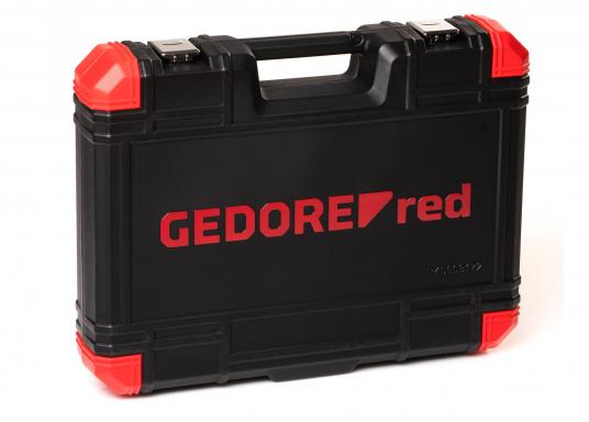 Der Werktzeugkoffervon GEDORE lässt Sie in keiner Situation im Stich! Dank seiner 172 Teile haben Sie immer das passende Werkzeug parat.  (Bild 3 von 6)